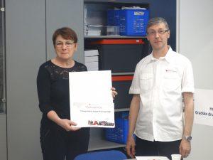 Uručena priznanja Hrvatskog Crvenog križa