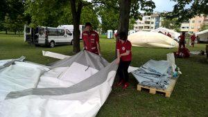 Velika smotra za početak Tjedna Crvenoga križa na Jarunu