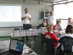 Trening za pripremu i raspodjelu hrane u terenskim uvjetima