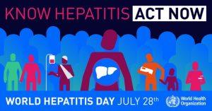 Svjetski dan hepatitisa : Informirajte se i budite zdravi !
