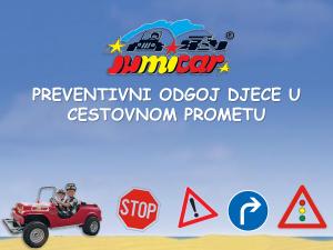 Jumicar, Nacionalni program sigurnosti djece u cestovnom prometu