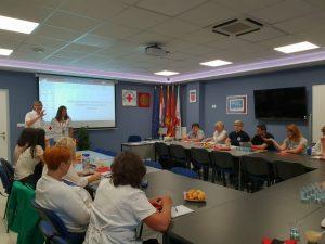 Radni susret Gradskih društava Crvenog križa