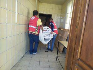 Donacija šatora Gradskim društvima Crvenog križa