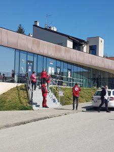 Predstavnici Hrvatskog Crvenog križa i Ravnateljstva Civilne zaštite posjetili Krapinu