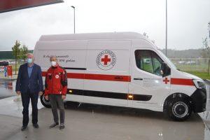 Povodom 25. godišnjice postojanja i djelovanja, Krapinsko- zagorska županija je DCK Krapinsko-zagorske županije poklonila novo kombi vozilo