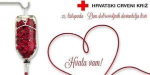 Dan darivatelja krvi 25. listopada