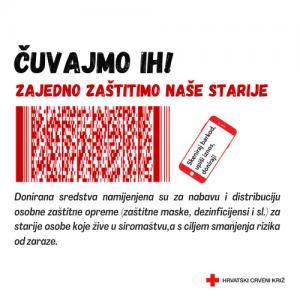ČUVAJMO IH: Zaštitna oprema za 23.000 socijalno ugroženih starijih osoba