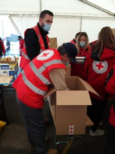 Aktivnosti volontera na potresom pogođenom području
